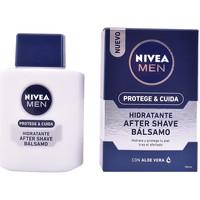 Belleza Hombre Cuidado Aftershave Nivea Men Protege & Cuida After Shave Balm Hidratante  100 ml