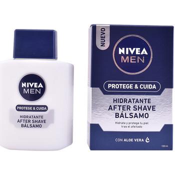 Belleza Hombre Cuidado Aftershave Nivea Men Protege & Cuida After Shave Balm Hidratante