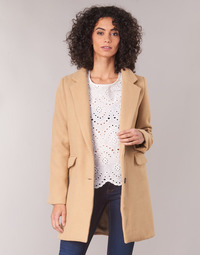 textil Mujer Abrigos Betty London JRUDON Beige