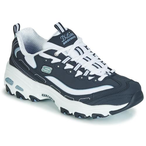 Zapatos Mujer Zapatillas bajas Skechers D'LITES BIGGEST FAN Navy