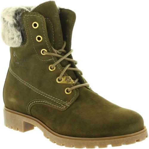 Zapatos Mujer Botas de nieve Panama Jack FELICIA B25 Verde