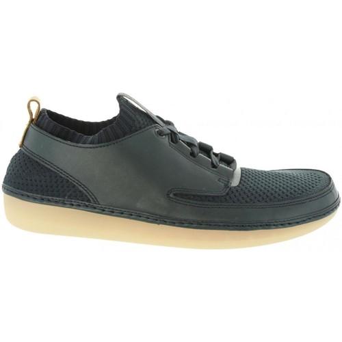 Clarks 26125773 NATURE IV Azul - Envío gratis | ! - Zapatos Zapatos de trabajo Hombre
