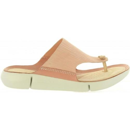 Zapatos Mujer Chanclas Clarks 26131757 TRI CARMEN Rosa