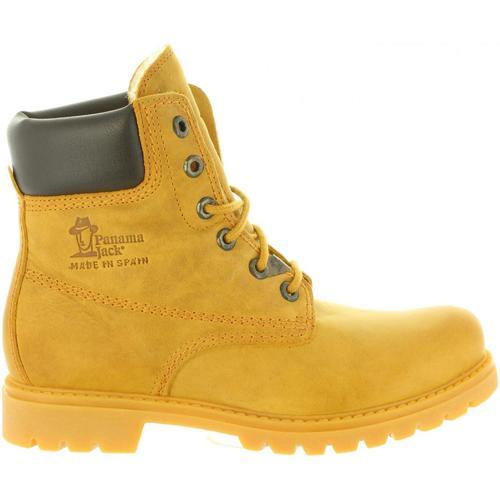 Zapatos Mujer Senderismo Panama Jack PANAMA 03 WOOL B1 Amarillo