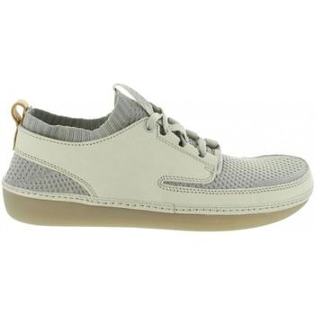 Zapatos Hombre Zapatillas bajas Clarks 26125775 NATURE IV Gris