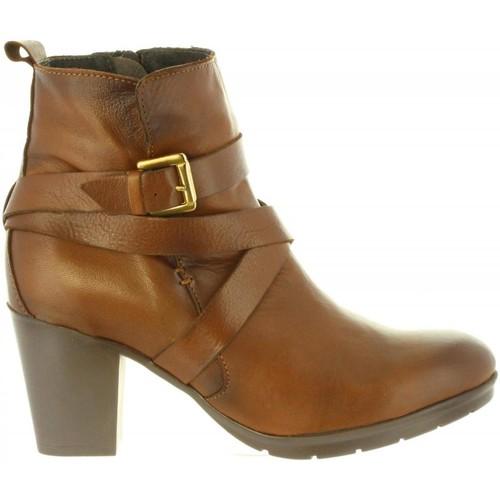 Zapatos Mujer Botas urbanas Chika 10 MARGOT 04 Marr?n