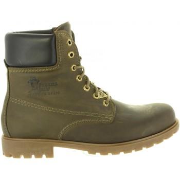 Zapatos Hombre Senderismo Panama Jack PANAMA 03 C18 NAPA GRASS KAKI Verde