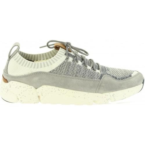 Zapatos Hombre Zapatillas bajas Clarks 26133889 TRIACTIVE Gris