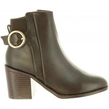 Zapatos Mujer Botines Chika 10 NOA 04 Marrón