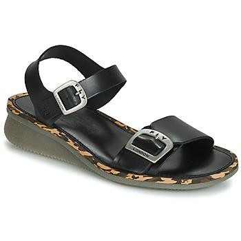 Zapatos Mujer Sandalias Fly London COMB Negro