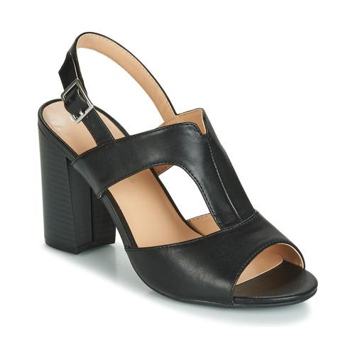 Zapatos Mujer Sandalias Moony Mood JALILIA Negro