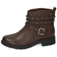 Zapatos Mujer Botas urbanas Refresh Botines resistentes Marrón