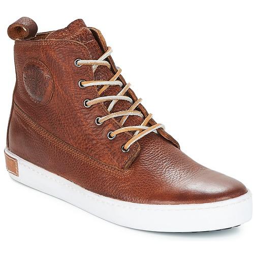 Zapatos especiales para hombres y mujeres Blackstone INCH WORKER Marrón