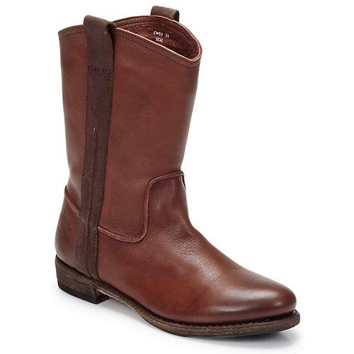 Zapatos Hombre Botas de caña baja Blackstone BOLOGNA HORSES Marrón