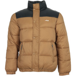 textil Hombre plumas Fila Raith Puff Jacket Marrón