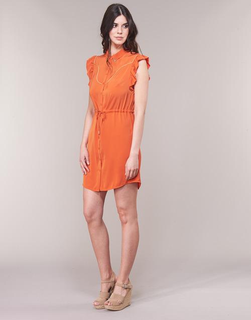 Textil Azitarte Cortos Woman Mujer Vestidos Lpb Coral wX0OZPNn8k