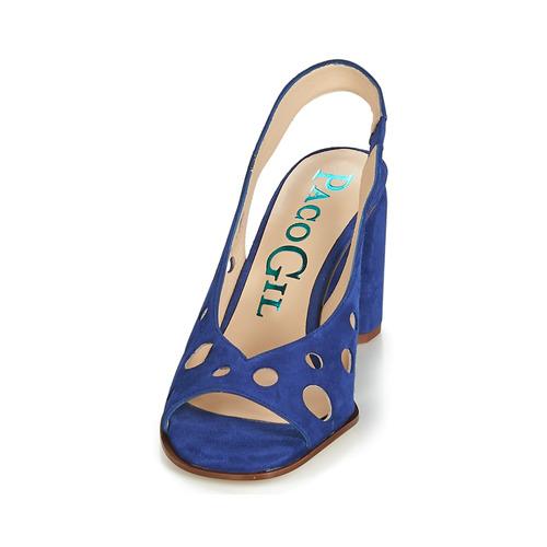 Paco Gil Azul Zapatos Mujer Sandalias Bali 08wOvmNn