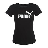 textil Mujer camisetas manga corta Puma PERMA ESS TEE Negro