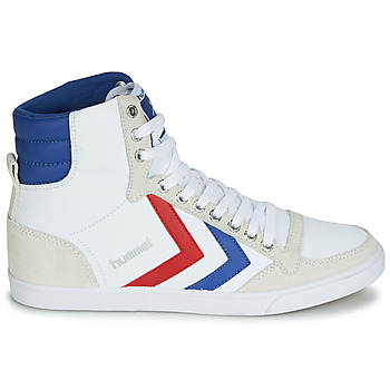 Hummel TEN STAR HIGH CANVAS Blanco
