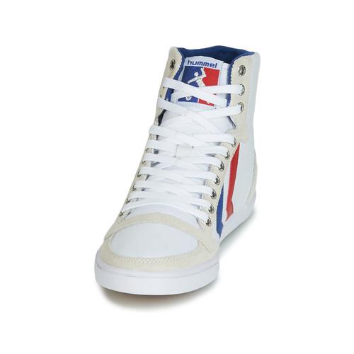 Zapatos Canvas Star Rojo Ten BlancoAzul Hummel High Altas Zapatillas T13FJlKc