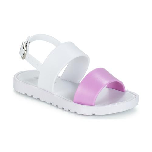 Zapatos Niña Sandalias Be Only ELEA Blanco / Rosa