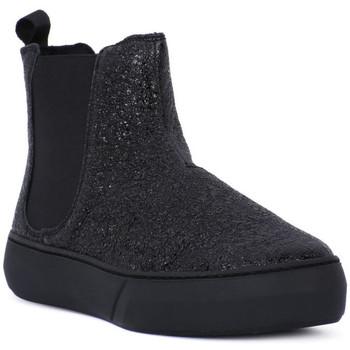 Zapatos Mujer Botas Frau FERRER NERO Nero