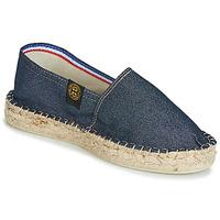 Zapatos Mujer Alpargatas Art of Soule DOUBLE SEMELLE Marino