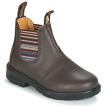 Zapatos Niños Botas de caña baja Blundstone KID'S BLUNNIES Marrón