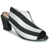 Zapatos Mujer Sandalias Papucei BETINA Negro / Blanco
