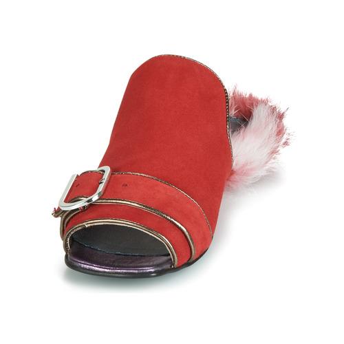 Zapatos Zapatos Zapatos Obsentum Mujer Mujer ZuecosmulesPapucei ZuecosmulesPapucei ZuecosmulesPapucei Obsentum Rojo Mujer Rojo Obsentum TFKcl1J3