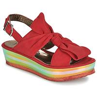 Zapatos Mujer Sandalias Papucei CONDE Rojo