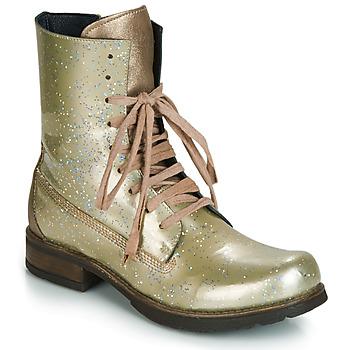 Zapatos Mujer Botas de caña baja Papucei JANET Verde / Beige