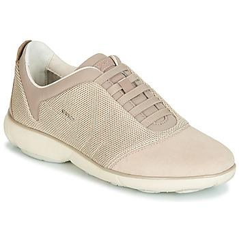 Zapatos Mujer Zapatillas bajas Geox D NEBULA Beige / Crema