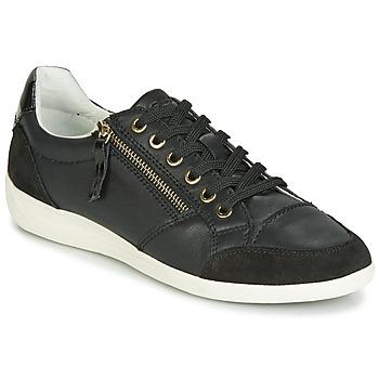 Zapatos Mujer Zapatillas bajas Geox D MYRIA Negro