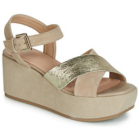 Zapatos Mujer Sandalias Geox D ZERFIE Oro / Topotea