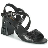 Zapatos Mujer Sandalias Geox D SEYLA S. HIGH PLUS Negro