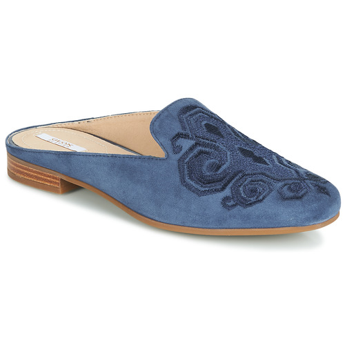 Zapatos Mujer Zuecos (Mules) Geox D MARLYNA Azul