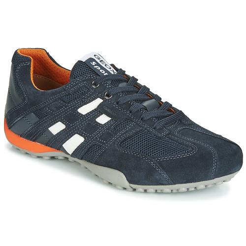 Zapatos Hombre Zapatillas bajas Geox UOMO SNAKE Marino