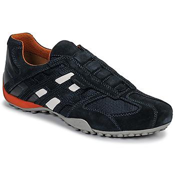 Zapatos Hombre Zapatillas bajas Geox UOMO SNAKE Azul / Negro