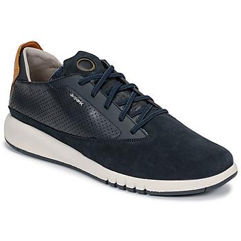 Zapatos Hombre Zapatillas bajas Geox U AERANTIS Marino