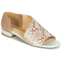 Zapatos Mujer Sandalias Geox D WISTREY SANDALO Beige / Ecaille