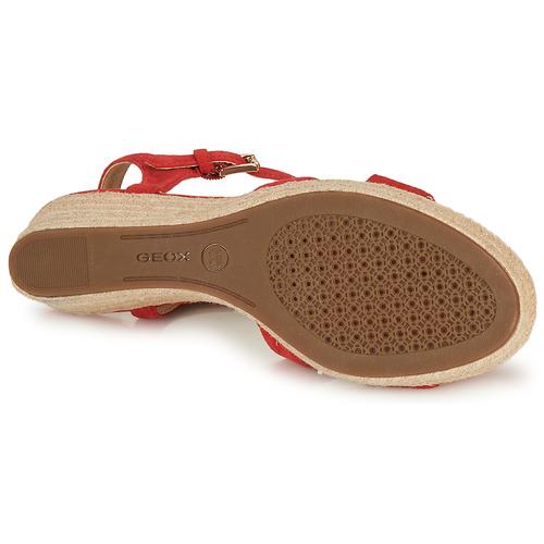 Geox Soleil Rojocoral Wyvm08nno Zapatos D Mujer Sandalias iTZuOPkX