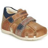 Zapatos Niño Sandalias Geox B KAYTAN Marrón