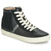 Zapatos Niña Zapatillas altas Geox J KILWI GIRL Negro