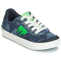 Zapatos Niño Zapatillas bajas Geox J KILWI BOY Azul / Verde