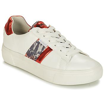 Zapatos Mujer Zapatillas bajas Refresh 69954 Blanco / Rojo