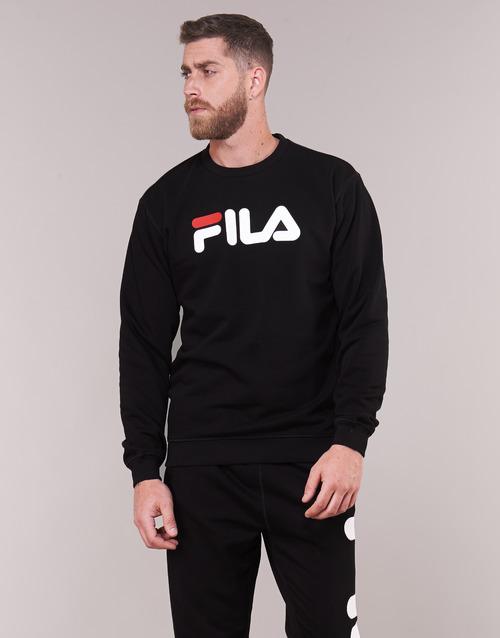 Fila Sudaderas Pure Crew Sweat Textil Negro TlFJc3uK15