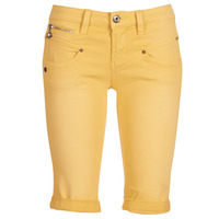 textil Mujer Shorts / Bermudas Freeman T.Porter Belixa New Magic Color Amarillo