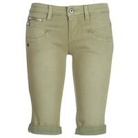 textil Mujer Shorts / Bermudas Freeman T.Porter Belixa New Magic Color Kaki