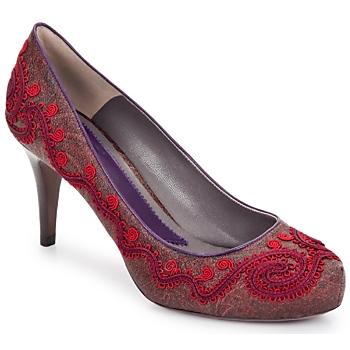 Zapatos Mujer Zapatos de tacón Etro BRIGITTE Rojo